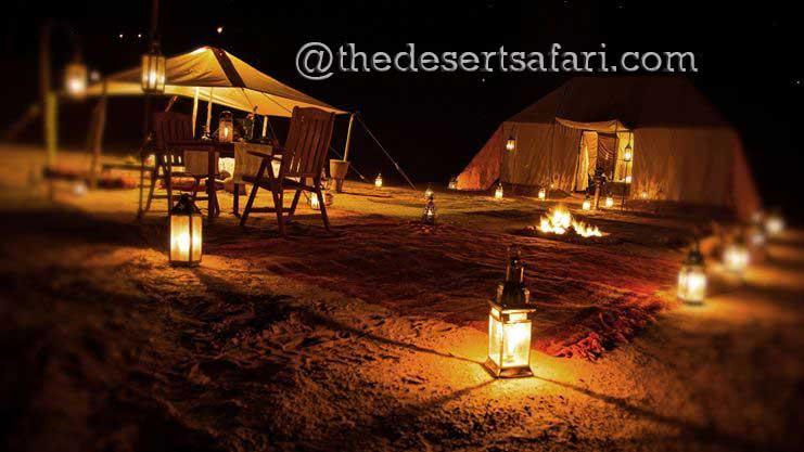 Camping at Erg Chebbi