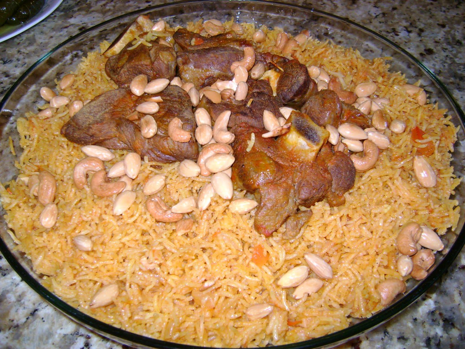 Arabian cuisine TDS