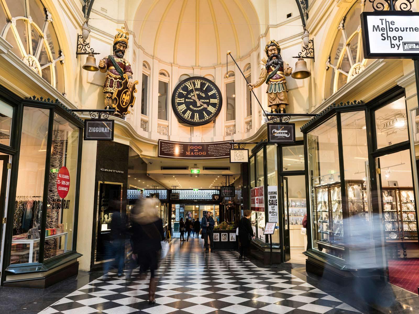 Arcades and Laneways TDS