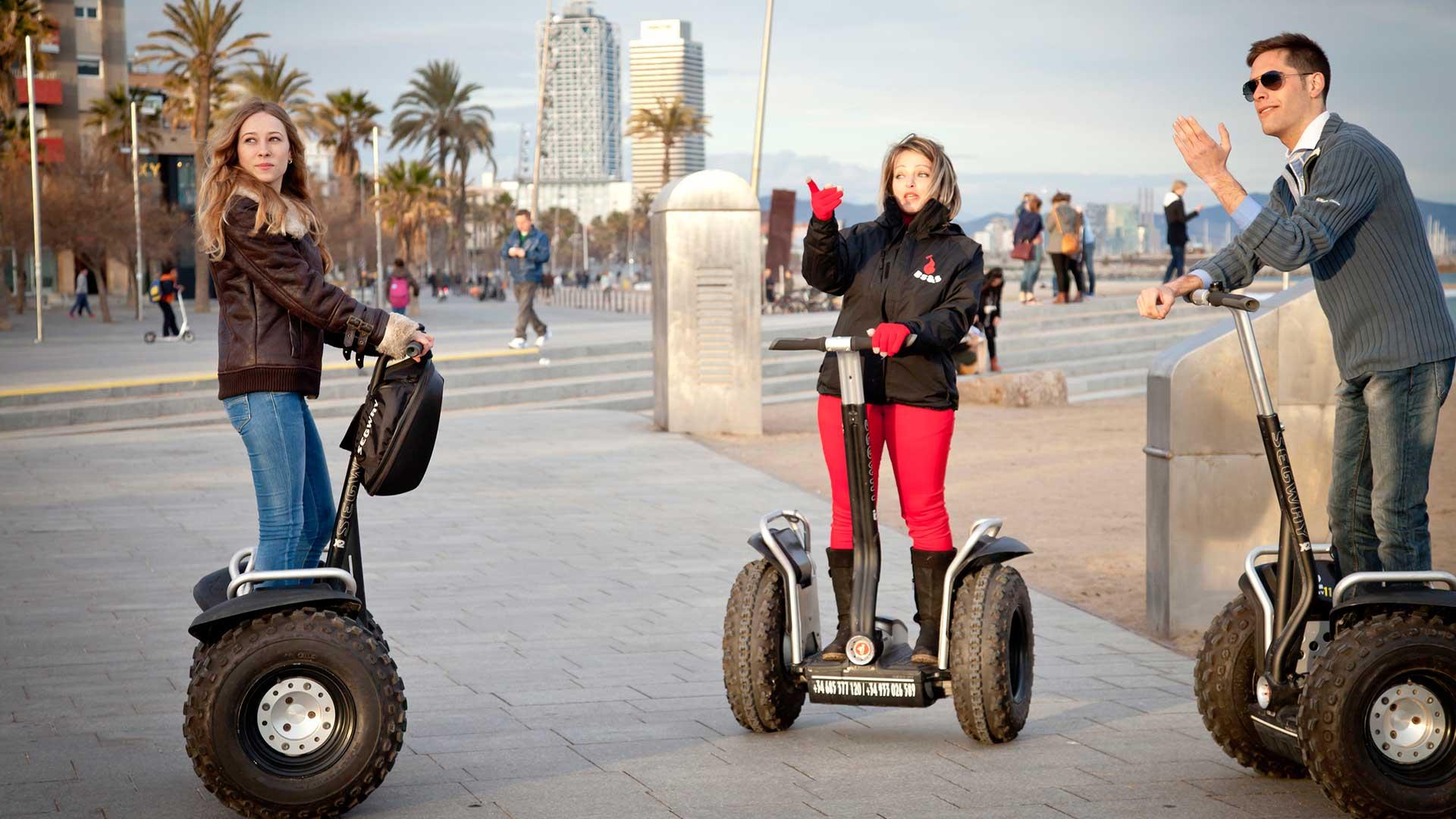 Barcelona Segway Tour TDS