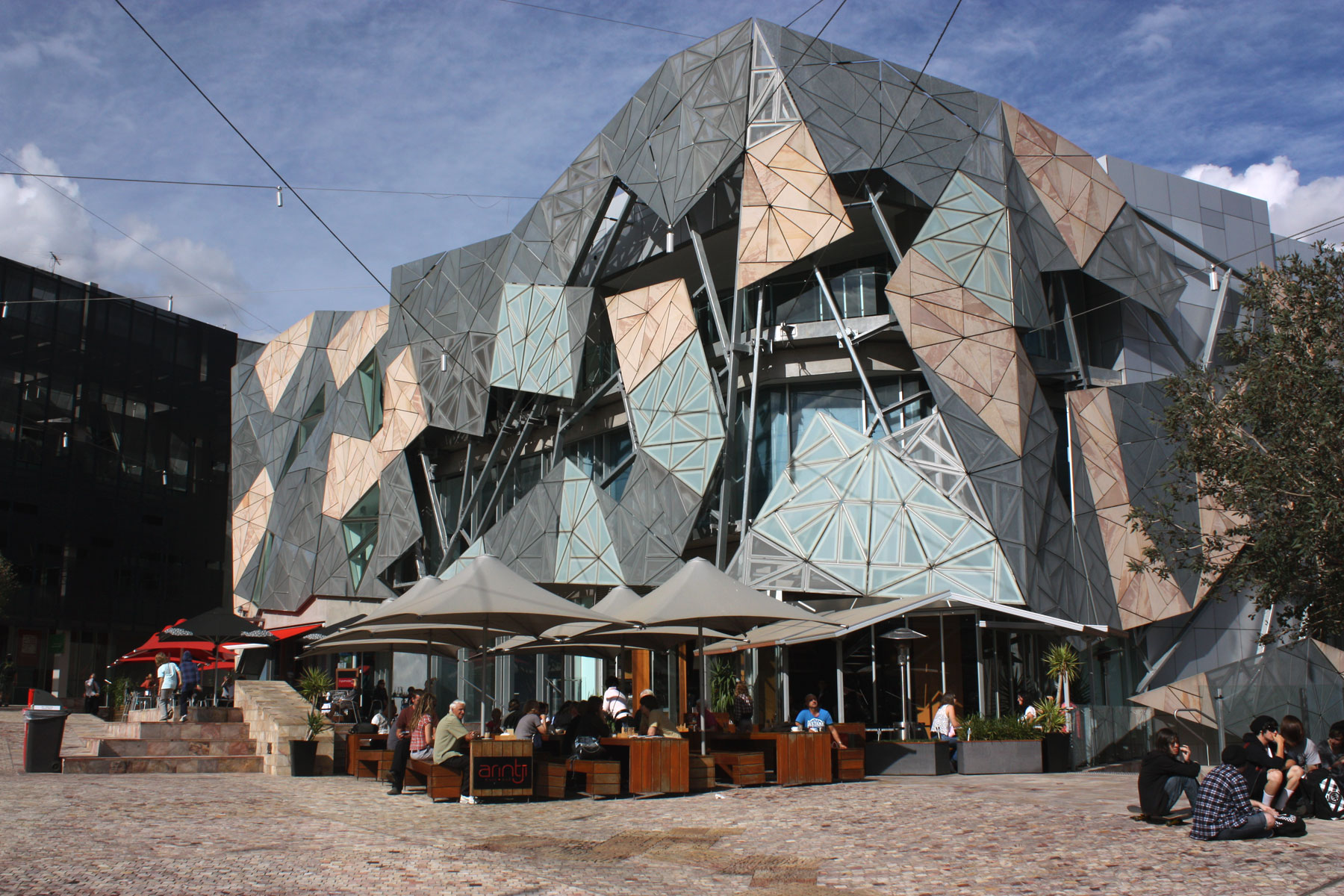 Federation Square Melbourne TDS