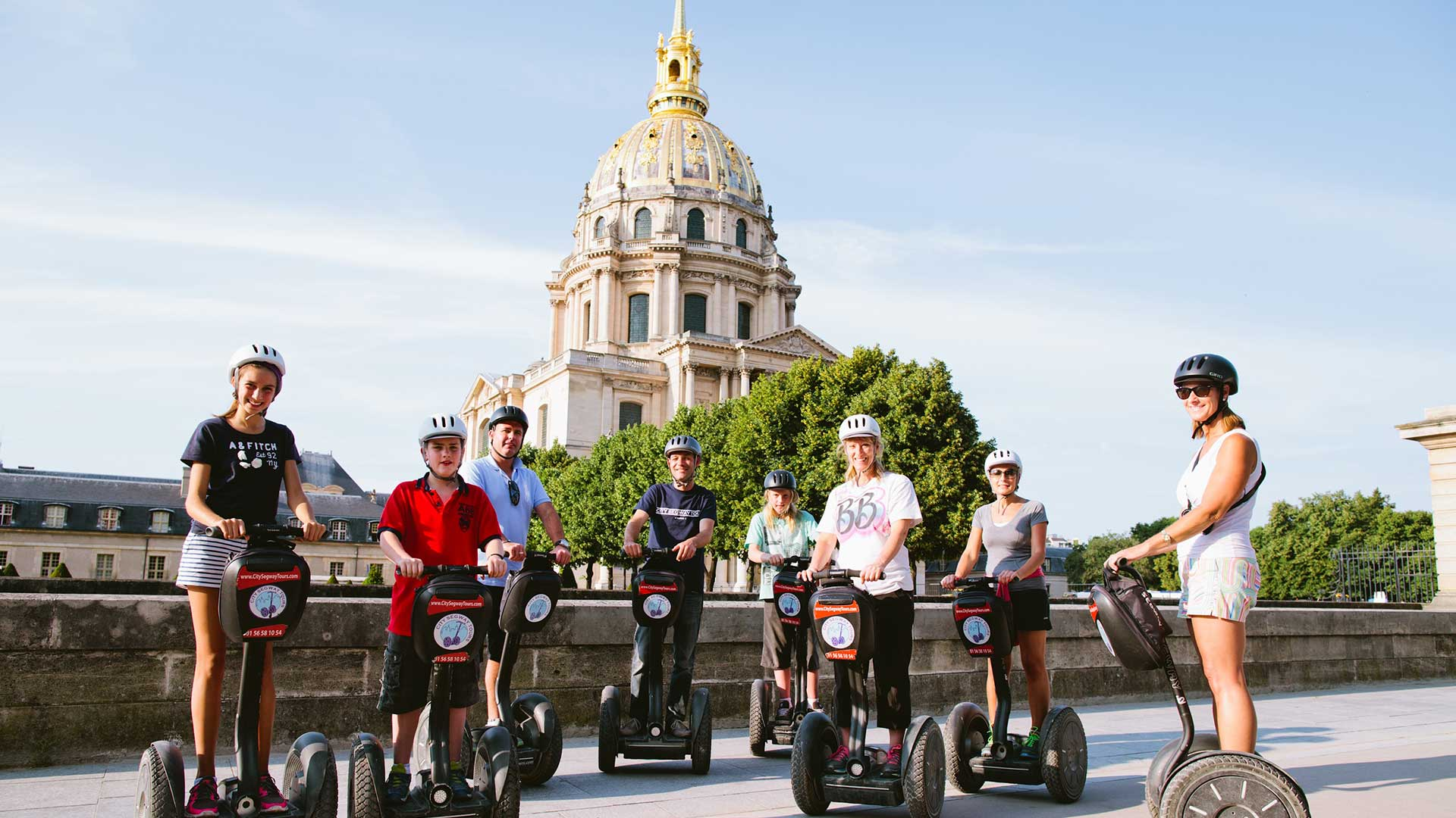 Segway tours in Paris TDS