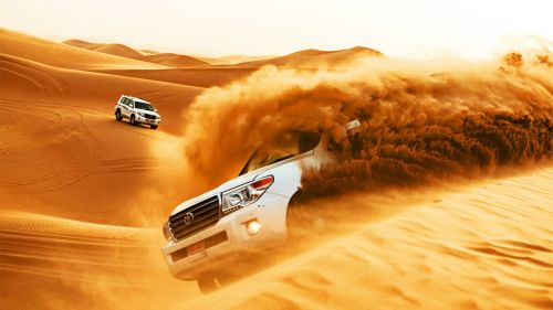 Bashing in Dubai desert
