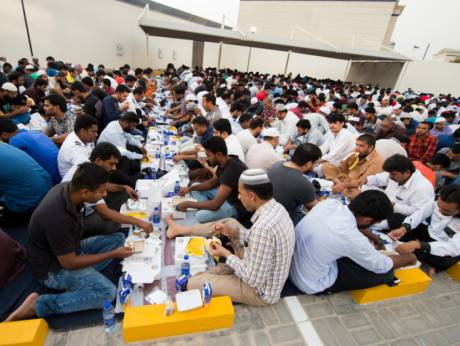 Iftar in Dubai