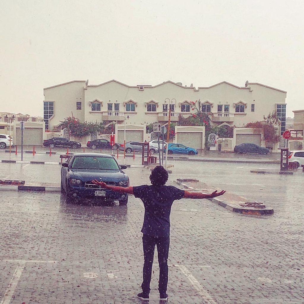 Dubai Rain
