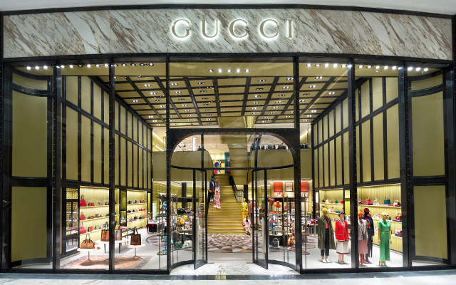 Gucci at DUbai Mall
