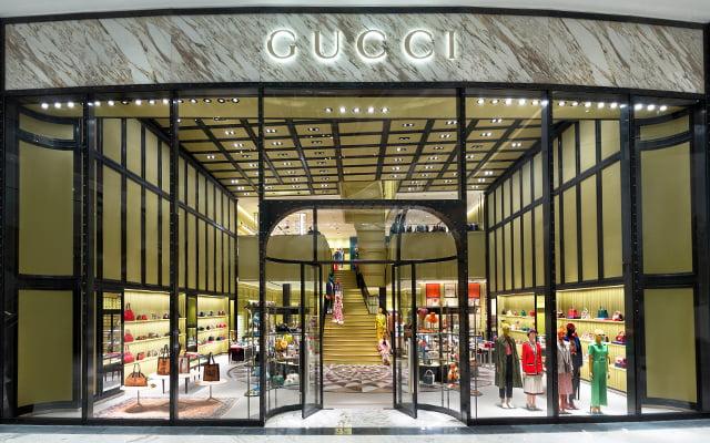 Gucci at DUbai Mall