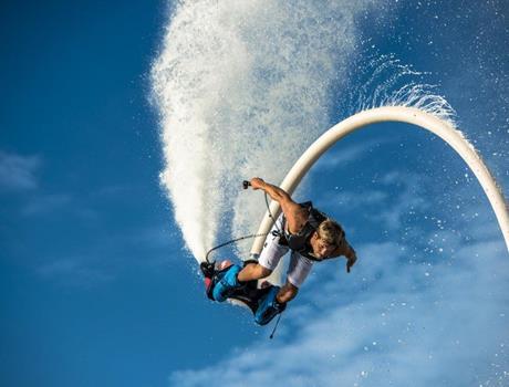 sky boarding