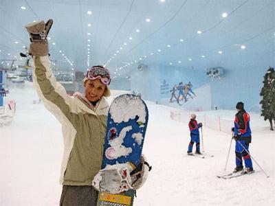 snow boarding