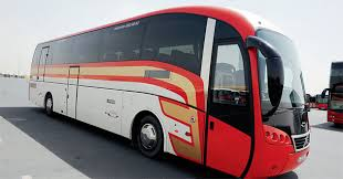 Transport bus in Dubai