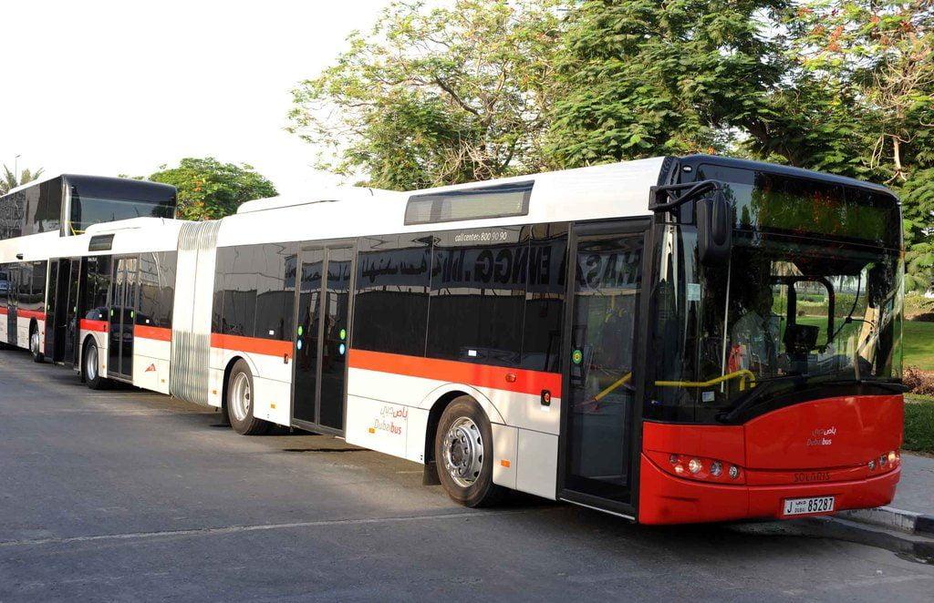 Metro Bus Dubai