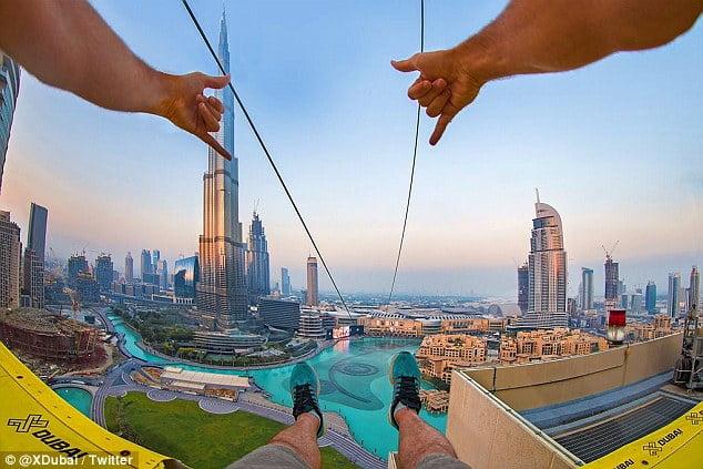Zip lines Dubai