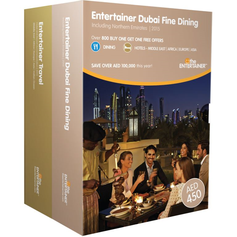 Fine dining entertainer book of dubai