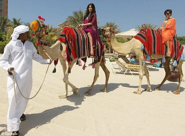 Camel ride at Safari Park