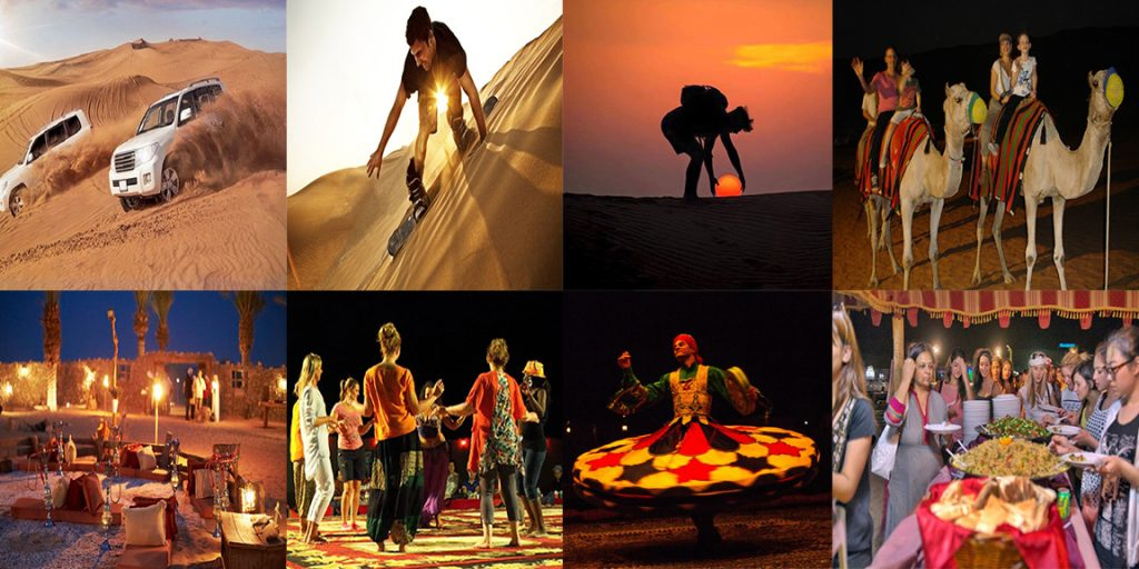 Activities at Dubai Desert Safari
