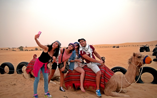 Fun at Dubai Desert Safari