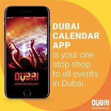 Dubai Calendar App