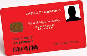 Alcohol Licence at Dubai