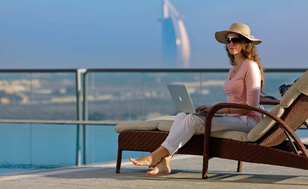 Solo Female at Dubai