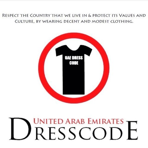 Dress Code For Dubai