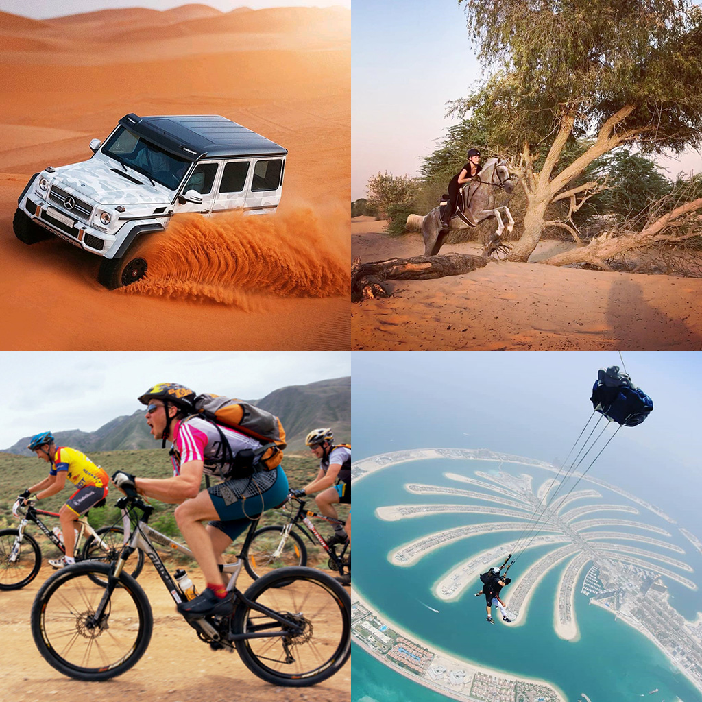 Adventurous Activities in UAE