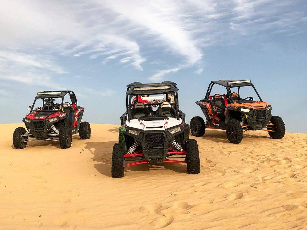 Double Seater Dune Buggy in Dubai Desert