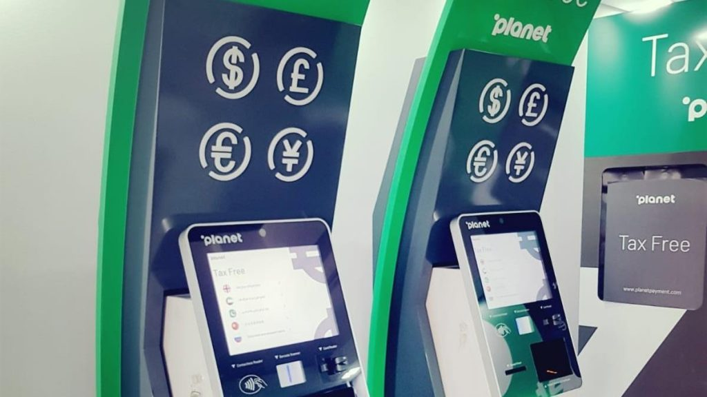 VAT Refund kiosks