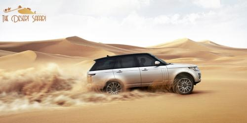 Dune Bashing in Landrover