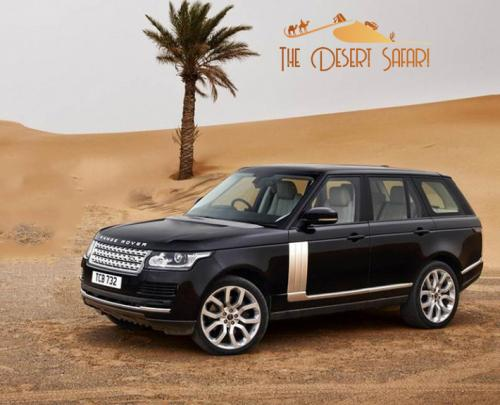 Dune Bashing in Range Rover