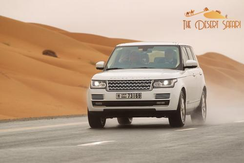 Rangerover Ride in The Desert