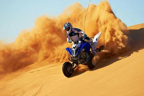 Quad Biking in Dubai Desert With TDS