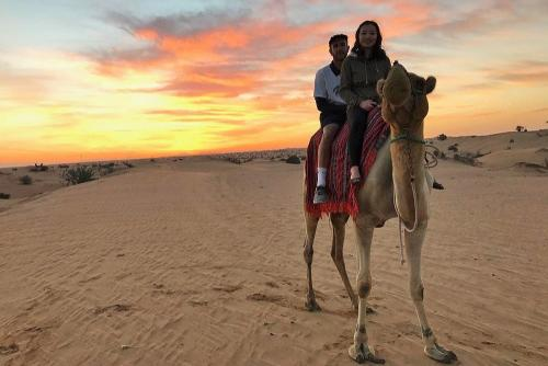 Camel Ride in Morning