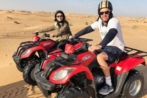 Quad Biking Tour During Morning Safari