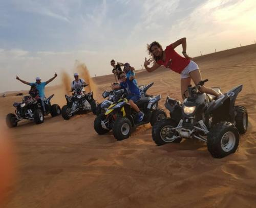 Quad Biking Tour in Dubai