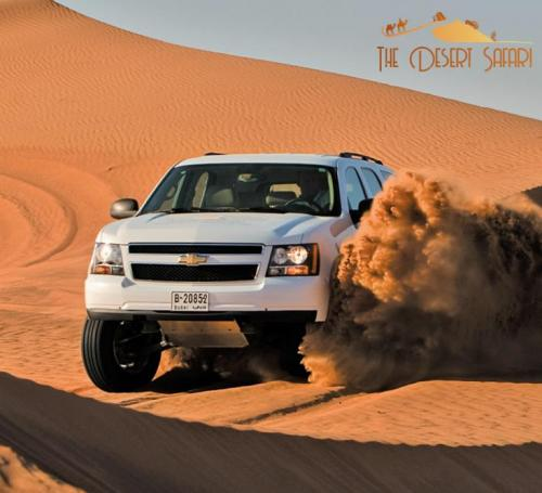 desert-safari-in-Chevrolet-Tahoe